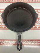 Pre Griswold Erie 9 D Cast Iron Skillet With Heat Ring Super Lightweight