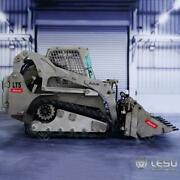 Us Stock 1/14 Lesu Rc Hydraulic Aoue-lt5 Metal Tracked Skid-steer Loader Model