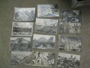 Lot Of 11 Vintage Real Photo Postcard Rppc Mexico Buildings Hotels People More