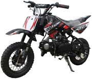 2021 Coolster Qg-213a Automatic Dirtbike 110cc Pitbike Youth Mid Size Gas Bike