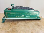 Bachmann G Scale Green Coal Tender At And Sf For Parts/repair