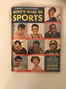 Stanley Woodward's Whos Who In Sports 1 1950 Ted Williams Rocky Graziano