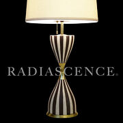 Lg Lightolier Atomic Modern Space Age Porcelain Table Lamp Architectural Pottery