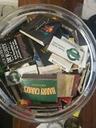 Vintage Lot Of 250+ Matchbook Boxes Collection Vegas, No, Atl, Ny, Chi, Etc