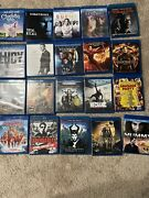 26 Blu Ray Movie Bundle Collection Maleficent Hunger Games Mummy