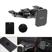 1x Car Cell Phone Mount Holder Magnetic Stand Cd Slot For Mobile Cell Phone Gps