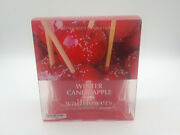 Bath And Body Works Winter Candy Apple Wallflowers Refills 2 Pack Home Fragrance.
