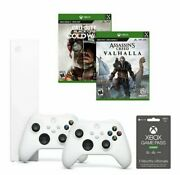 Microsoft Xbox Series S Assassinand039s Creed Call Of Duty Cold War Game Pass 3 Month