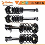 For Nissan Maxima 2002-2003 Quick 4 Pcs Complete Struts Shocks Springs And Mounts