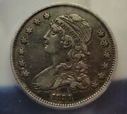 1831 Icg Xf40 Capped Bust Quarter