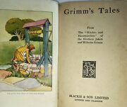 Antique Blackie And Son Book Grimmand039s Fairy Tales D11
