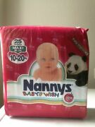 Vintage Nannys Baby's Wish 25 Maxi Plus Cloth Backed Diapers 10-20 Kg -22-44 Lbs