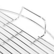 Baking Rack Household Stainless Steel Barbecue Grill Roast Chicken Wing Rack Bbq