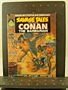 2 Vintage Savage Tales Featuring Conan Magazines Curtis / Marvel 2 And 5