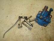 1970 Ford 4000 Tractor 3pt Hydraulic Flow Control Valve Parts Side Diff Plate