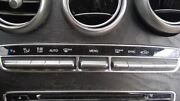 15-19 Mercedes C-class Heater Climate Temperature Control 205 Type Front