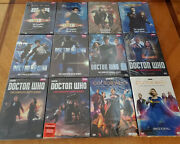 Doctor Who Complete Series Seasons 1-12 Dvd Usa Brand New Free Shipping