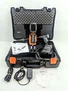 Testo 330-2 Ll Lx Flue Gas Combustion Analyzer Bluetooth W/ Extra Battery And Case