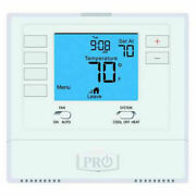 Programmable Digital Thermostat Pro1 T705 Single Stage - Al Ac Air Conditioner
