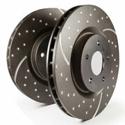 Ebc For Ram 2500/3500 2012-2018 Rear Rotors Gd Sport Pick-up 5.7 2wd/4wd
