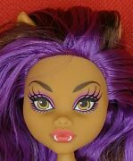 Monster High Clawdeen Wolf Gloom Beach Nude Doll No Arms And Hands For Ooak