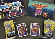 Gpk We Hate The 80s Base Set 180 Cards Empty Collector Box And Insert He-manny