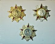 Albania Medal Order Of The Freedom Class I - I - Iii - Rare With Pin Gift