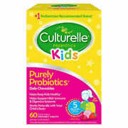 Culturelle Kids Probiotic 60 Chewable Tablets Fresh Free Shipping
