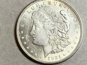 ✅ 1921 Morgan Silver Dollar About Uncirculated Great Silver Investment