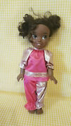 Disney Toddler Princess Tiana Toy Doll Vgc 14 In Pink/gold Outfit