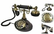 Antique Corded Phone|landline Phones For Home Decor|rotary Dial Phone|classic