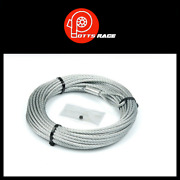 Warn Vrx/ Rt25 30 Series/ A2000/ A2500/ 3/16 X 50and039 Winch Cable For 2.5ci-