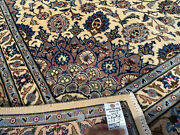 10x13 Muted Vintage Wool Rug Hand-knotted Antique Neutral Oriental Handmade 9x13