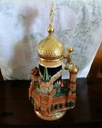 Thewalt Limited Edition Moscow Landmark 3d Shaped Stein