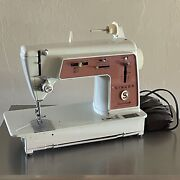 Vintage 1970's Singer Touch And Sew 626 Zig Zag With Metal Gears