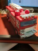 2005 Hess Fire Truck And Ladder Rescue Vehicle New In Box