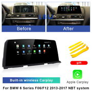 Android 10 Car Gps Video Wifi Auto Unit Wireless Carplay For Bmw 6 Series 2017