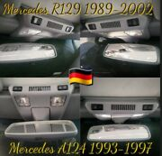 🇩🇪 Mercedes R129 A124 Dome Light Cover Replacement Service With Or Without Sos