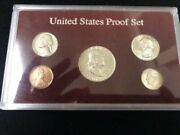1950 Silver United States Mint 5 Coin Proof Set.