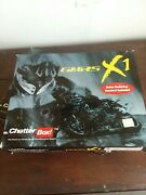 Lot Of 2 Gmrs Chatterbox Full-face Bluetooth Motorcycle Helmet Communicat System
