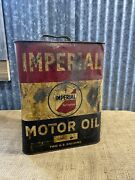 Imperial Motor Oil, Two Gal Can, Imperial Refineries