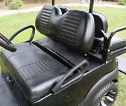 Club Car Precedent Golf Cart Front And Rear Seat Cover Combo - Staple On