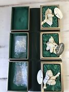 3 Snowbabies Ornaments Original Book Boxes My Gift To You Let It Snow Serenade