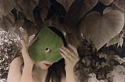 Karen Truax Whoosis 1975 / Vintage Hand-colored Silver Print / Signed