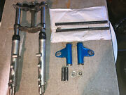 1972 Yamaha Xs650 Tx650 Front End Forks And Hardware