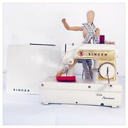 Machine For Sewing Toy Vintage Singer The Small Golden Panoramic Years 70