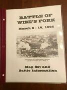 Battle Of Wise's Fork, March 1865, Map Set And Civil War Battle Information, Nc