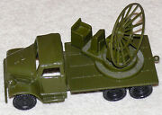 Vintage Marx Flatbed Radar Truck From Army Military Training Center Play Set