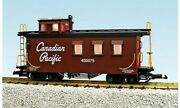 Usa Trains G Scale Canadian Pacific Cp Wood Caboose