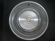 68 69 Cadillac Deville Fleetwood Calais Rwd Stainless Rim Hubcap Wheel Cover